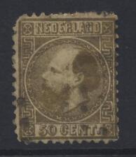 NETHERLANDS 1862 50c GOLD DIE I FAIR