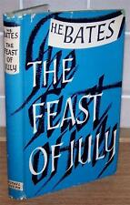 1954 Special 1st Edition H E BATES The Feast Of July + D/W