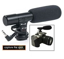 Mini Pro Condenser Microphone For Nikon Coolpix P7000 P7700 P7800