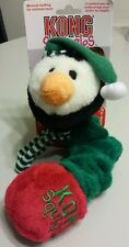 Kong Squiggles Large Christmas Penguin Squeak & Stretch