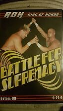 Ring of Honor Battle for Supremacy ROH NXT NJPW PWG Beyond WWE OOP Hero Nigel