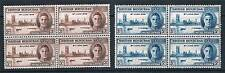 British Honduras 1946 Victory BLOCKS 4 SG 162/3 MNH