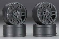 Pro-Line 2724-03 Split Six V2 Front/Rear Wheels Black (4) 1/8 Buggy 17mm Hex