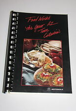 Arizona Motorola Food Service Employee Cookbook Great Recipes Taste Collection