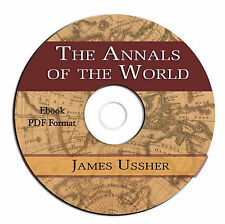 Annals of the World-James Ussher-Ancient History-Bible-Home school-CD Ebook PDF