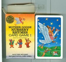 """Sealed Game Deck """"Nursery Rhymes, #1"""" Playing Cards US Games USA 1992 Non-Stand"""