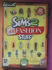 Los Sims 2 H & m Fashion Stuff Pc Cd-rom Add-on Pack Nuevo Y Sellado Uk!