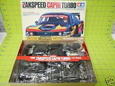 KIT - TAMIYA FORD ZAKSPEED CAPRI TURBO SPORTS CAR - 1/24 SCALE - MOTORIZED