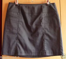 Zwarte soepele rechte rok van Gerry Weber Maat 38