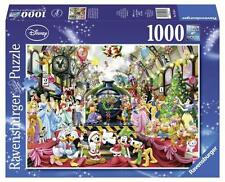 RAVENSBURGER DISNEY JIGSAW PUZZLE ALL ABOARD FOR CHRISTMAS! 1000 PCS #19553