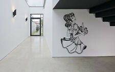 Wall Room Decor Art Vinyl Sticker Mural Decal Pin Up Girl Tattoo Poster SA267