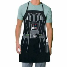 Novelty Funny Aprons Star Wars Black Fighters Darth Vader Party Cooking Apron