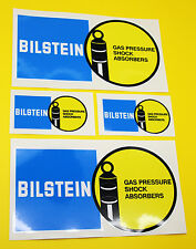 CLASSIC Car Rally / RACE BILSTEIN Adesivo Set 2 grandi 2 piccoli GLOSS stratificato