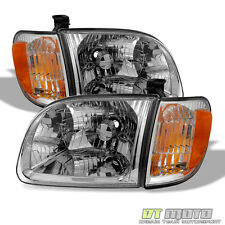 2000-2004 Toyota Tundra Regula/Access Cab Headlights+Parking Lights corner Lamps