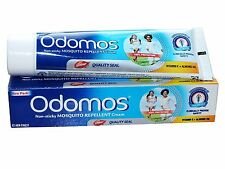 5x Natural Dabur Odomos Cream 50g (1.7 Oz) Protect From Mosquito Bites Repellent