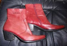 Womens Durango Rusty Red Ankle Boots  sz 6 M
