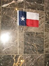 "8x12 Texas State Whole Sale Lot of 24 Stick Flags 8""x12"" w/ stick"