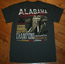 Alabama Crimson Tide 2012 Iron Bowl Champions over Auburn 49-0 T-Shirt Men Small