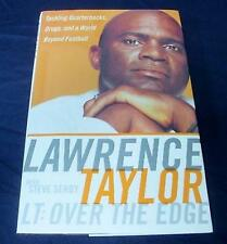 NFL Buch Book LAWRENCE TAYLOR L.T. - Over the Edge TOP RAR N.Y. Giants New York