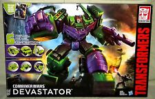 CONSTRUCTICON DEVASTATOR SET Transformers Generations Combiner Wars Minor Wear