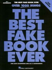 The Best Fake Book Ever 2nd Edition E-flat Edition Real Book Fake Book 000240084