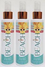 3 Bath & Body Works AT THE BEACH Sea Salt Hair Mist Fragrance Mist Spray