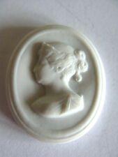 Porzellanmedaillion  Frauenbildnis     Meissen  4
