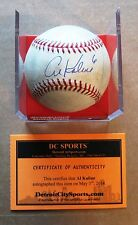 Detroit Tiger Stadium Final Game  GAME READY Baseball Signed by Al Kaline w COA