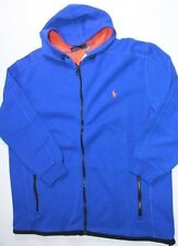 Polo Ralph Lauren Small Pony  Mens Blue Jacket Hoodie 2XB
