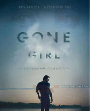 Gone Girl (Blu-ray Disc, 2015, Includes Digital Copy) NEW WITH SLIP COVER