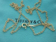 Tiffany & co 18K GOLD CHAIN with pouch