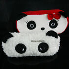 1pcs Valentine's Gift Panda Plush Pencil Case Pocket Cosmetic Makeup Zipper Bag