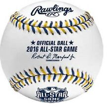 Rawlings Official 2016 ALL STAR BASEBALL  Red Rawlings Box  Petco Park