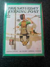 NORMAN ROCKWELL series 2 trading cards - The Saturday Evening Post - PROMO Card.