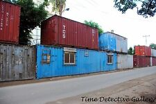 Homes Made from Shipping Containers, Cuba - Giclee Photo Print