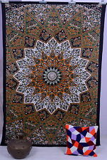 Indian Star Psychedelic Tapestry Wall Hanging Throw Beding Picnic Blanket Ethnic