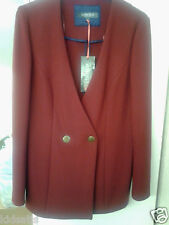Ladies Fabulous Marks & Spencer Size 12 Classy Mulberry Jacket £59 In Store BNWT