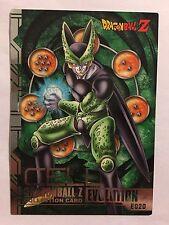 Dragon Ball Z Collection Card Evolution E020 Silver