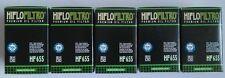 Husaberg Fs570 Supermoto (2010 A 2011) Hiflofiltro Filtro De Aceite (hf655) X 5 Pack