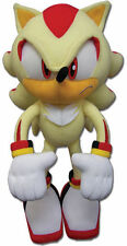 "BRAND NEW Sonic Hedgehog Plush Doll Toy (GE-52631) - 13"" Super Shadow *QUALITY*"