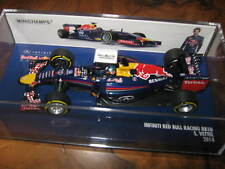 1:43 red bull renault rb10 2014 p. 410140001 bruja Minichamps OVP New