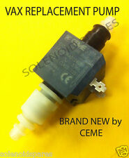 VAX WET&DRY PUMP E407 ET408  VAX PART NUMBER 1512441900 (REPLACEMENT FOR ET407)