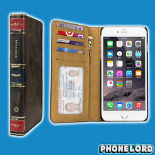 "Genuine Twelve South iPhone 6/6S Plus 5.5"" BookBook Brown leather case wallet"