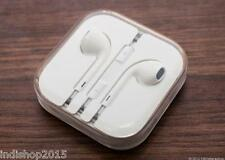 Apple Handsfree Earphones for iPhone 5, 5S, 4, 4S - With Mic & Buttons - White