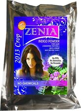 1kg - 1000g Zenia Pure Indigo Powder Natural Hair Dye Hair Conditioning