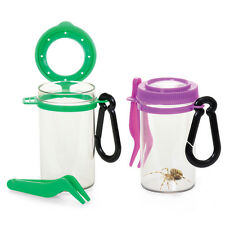 Insect Bug Viewer Magnifying Pot/Tub Nature Container Garden Toy TWIN PACK!