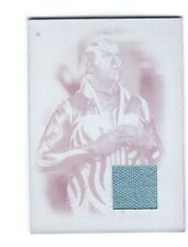 WWE Goldust 2016 Topps Heritage Printing Plate Ring Mat Relic Card SN 1 of 1