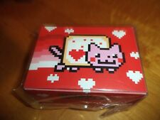 Nyan Cat Valentines Deck Box New Ultra Pro Card Storage Protector Case MTG