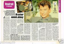 Coupure de presse Clipping 1985 (2 pages) Johnny Hallyday