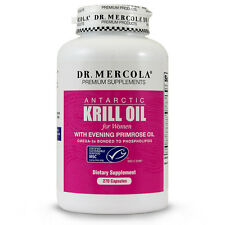 Dr. Mercola Krill Oil for Women - With Evening Primrose - 270 Capsules